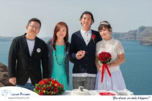 Steven Niki Santorini Wedding & Italy Testimonial