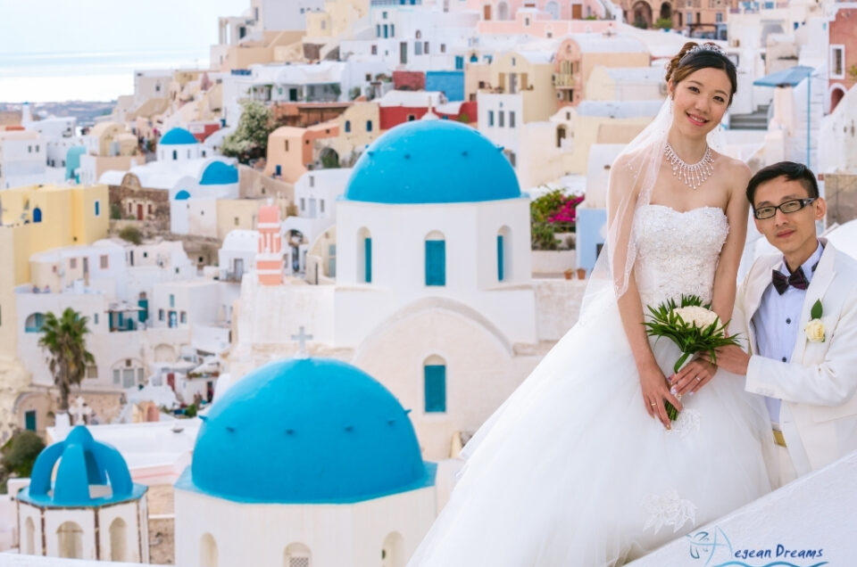 Vivi & Weiwen elopement style wedding and photography tour in Greece part two