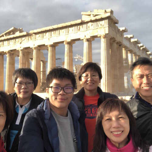 Soh Cheng and family